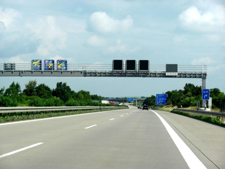 Autobahn A14 Magdeburg