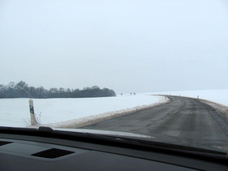Autofahren Winter
