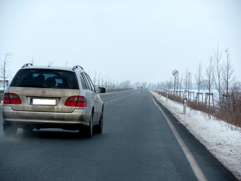 Riskante Autofahrer