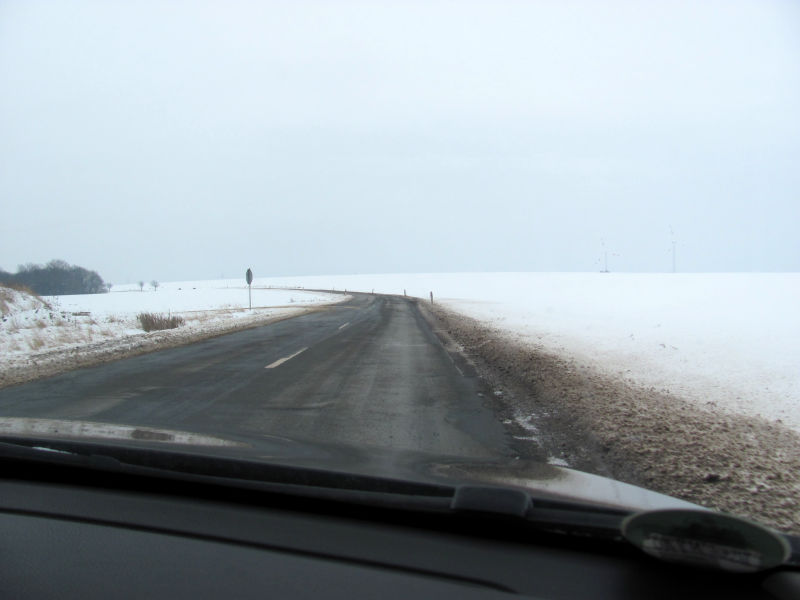 Straße Winter