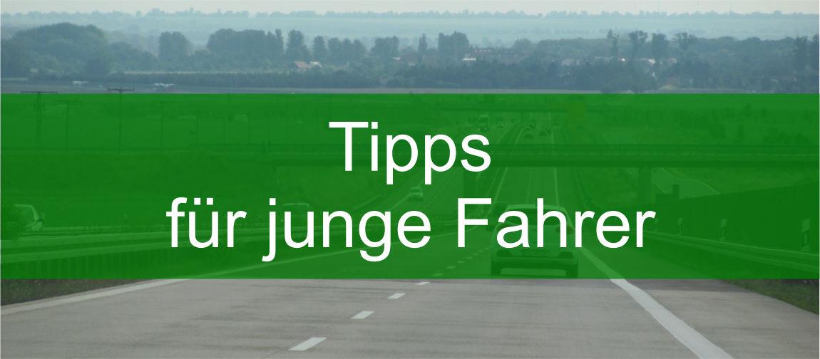 Tipps junge Fahrer