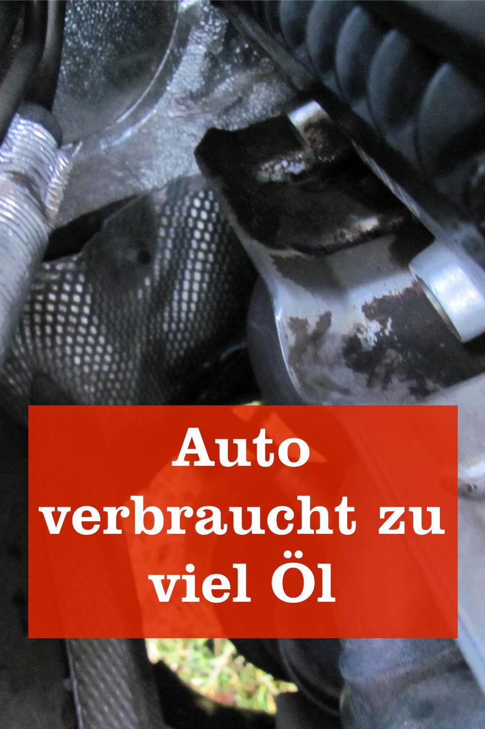 Auto verbraucht Öl