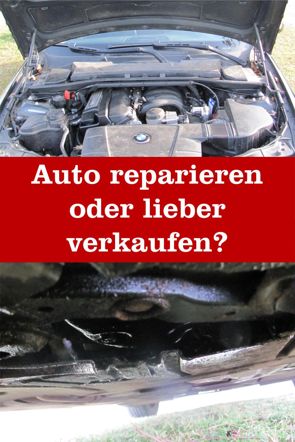 Auto reparieren oder verkaufen