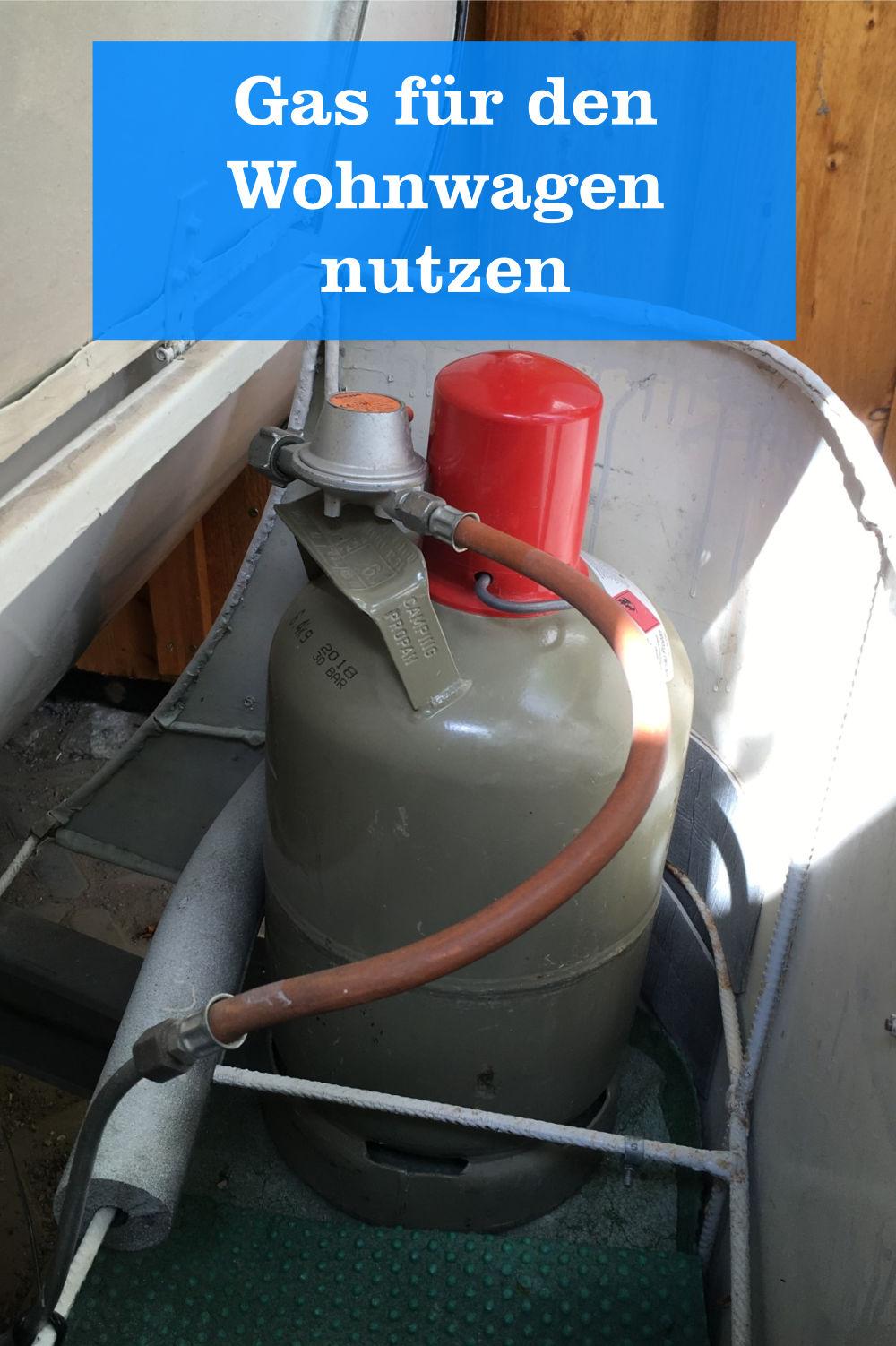Wohnwagen Gas nutzen