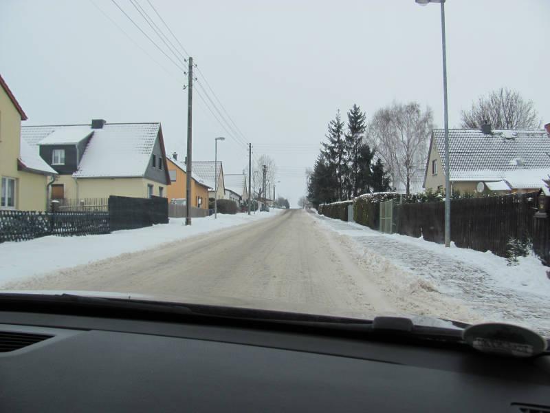 Fahren auf Schnee