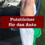 Putztücher für Auto