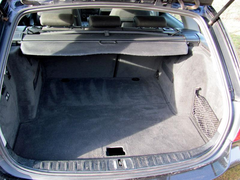 Kofferraum sauber